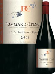 Domaine Caillot - Pommard 1er Cru - Les Epenots Rouge 2001