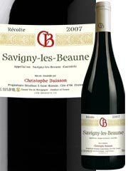 Domaine Christophe Buisson - Savigny les Beaune - Rouge 2007