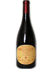 Laurent Martray - Brouilly - Corentin Rouge 2010