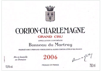 Domaine Bonneau du Martray - Corton Charlemagne Grand Cru - Blanc - 2006