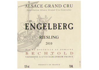 Domaine Bechtold - Alsace Grand Cru - Riesling Engelberg Blanc 2010