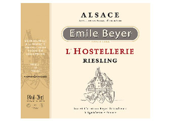 Domaine Emile Beyer - Alsace - Riesling Hostellerie Blanc 2011