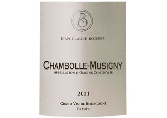 Jean Claude Boisset - Chambolle-Musigny - Rouge 2011