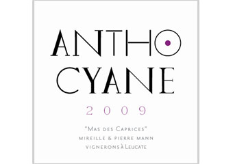 Mas des Caprices - Fitou - Anthocyane - Rouge 2009