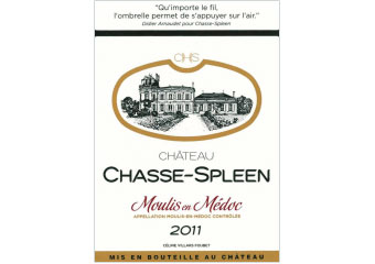 Château Chasse-Spleen - Moulis - Rouge - 2011