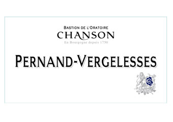 Chanson - Pernand Vergelesses - Rouge 2011