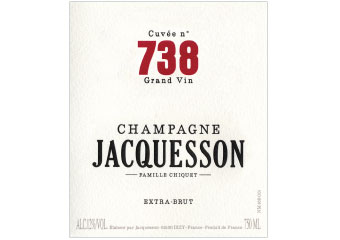 Champagne Jacquesson - Champagne  - 738 - Blanc
