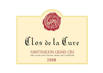 Clos de la Cure - Saint-Emilion Grand Cru - Rouge 2008