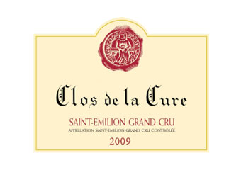 Clos de la Cure - Saint-Emilion Grand Cru - Rouge 2009