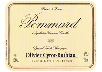 Domaine Cyrot-Buthiau - Pommard - Rouge 2010