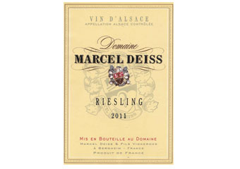 Marcel Deiss - Alsace - Riesling Blanc 2011