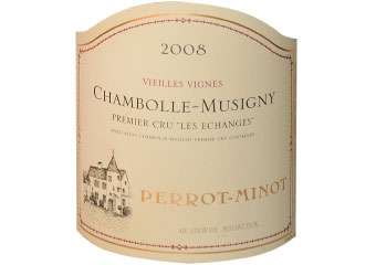 Domaine Perrot Minot - Chambolle-Musigny - Aux Echanges Rouge 2008
