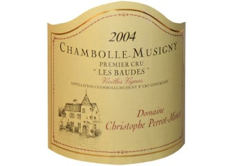 Domaine Perrot Minot - Chambolle-Musigny 1er Cru - Les Baudes Vieilles Vignes Rouge 2004