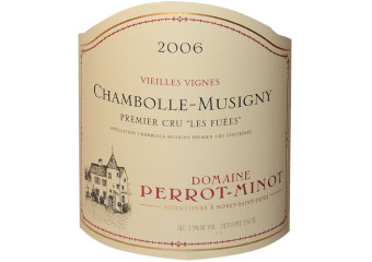 Domaine Perrot Minot - Chambolle-Musigny 1er Cru - Les Fuées Vieilles Vignes Rouge 2006