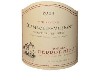 Domaine Perrot Minot - Chambolle-Musigny 1er Cru - Les Fuées Vieilles Vignes Rouge 2004