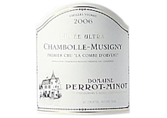 Domaine Perrot Minot Chambolle-Musigny 1er Cru Combe d
