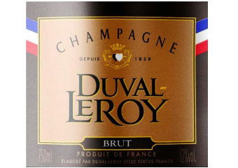 Duval Leroy - Champagne  - MOF - Blanc