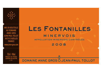 Domaine Gros-Tollot - Minervois - Fontanille Rouge 2008