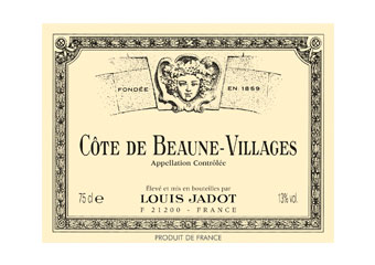 Louis Jadot - Côte de Beaune Villages - Rouge 2009