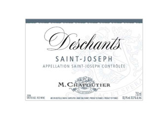 M. Chapoutier - Saint-Joseph - Deschants Rouge 2008
