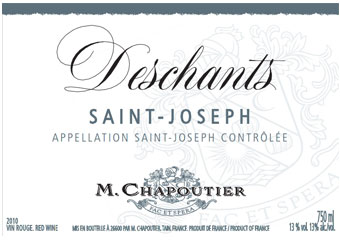 Chapoutier - Saint-Joseph - Deschants Rouge 2010