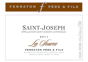 Maison Ferraton - Saint Joseph - La Source Blanc 2011