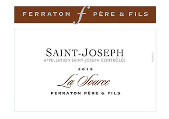 Maison Ferraton - Saint Joseph - La Source - Rouge - 2013
