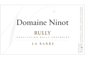 Domaine Ninot - Rully - La Barre - Blanc - 2012
