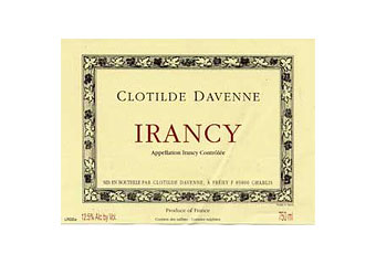 Clotilde Davenne - Irancy - Rouge 2010
