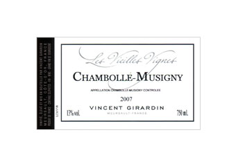 Vincent Girardin - Chambolle-Musigny - Vieilles Vignes Rouge 2007